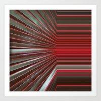 Red Room Art Print