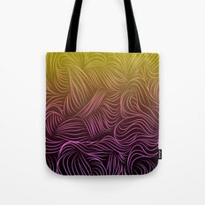 Ombre Hair Design Tote Bag