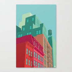 Mulberry street SOHO NYC Canvas Print