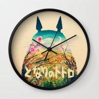 Forest Dream Wall Clock
