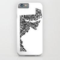 Typographic Maryland iPhone 6 Slim Case