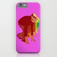 The Racing Rainbow Skulls iPhone 6 Slim Case