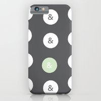Spot Color Ampersand iPhone 6 Slim Case