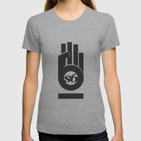 s6_hand_tee_1 Womens Fitted Tee Athletic Grey SMALL