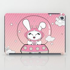 Space Bunny Flying iPad Case