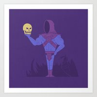 To Be, Or Not To Be Art Print