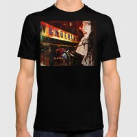 Chelsea (I Don't Want To Go To ) Mens Fitted Tee Black SMALL