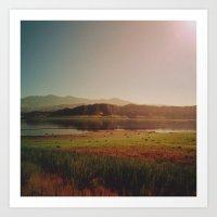 Lay of the Land Art Print
