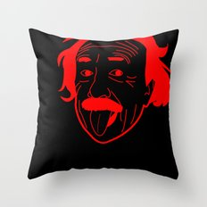 I __ Genius Throw Pillow