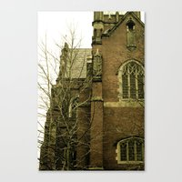 Historic church Canvas Print