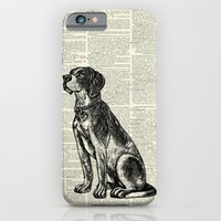 Hunting Dog With Bow Tie iPhone 6 Slim Case