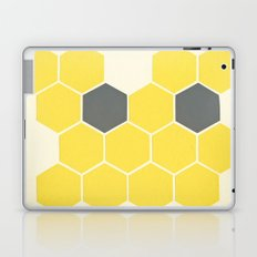 Yellow Honeycomb Laptop & iPad Skin