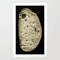 Gluten Art Print