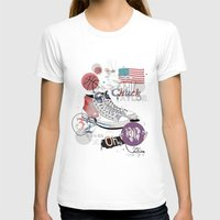 The Chuck Taylor Womens Fitted Tee White SMALL