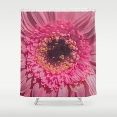 DEEP IN THE PINK Shower Curtain