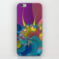 wet paint fractal  iPhone & iPod Skin