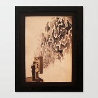 Canvas Print featuring Indoctrination by Marisabel Lavastida