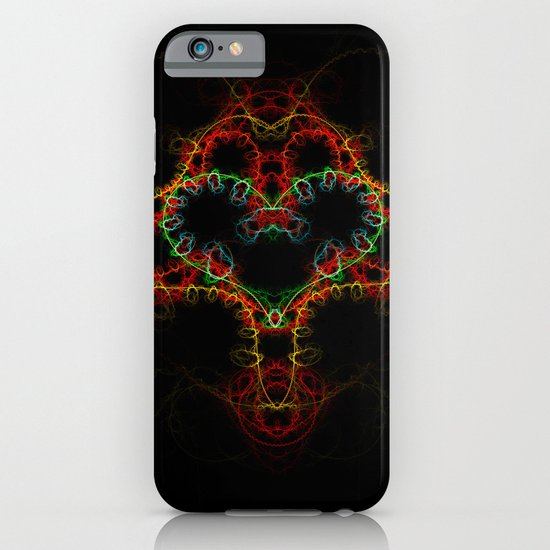 Fractal Heart iPhone & iPod Case