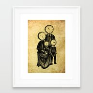 Family Time Framed Art Print