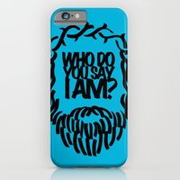 iPhone & iPod Case featuring Who do you say I am? by 1Name Design