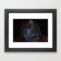 Sir Frog Framed Art Print