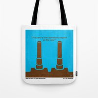 No168 My The Guns of Navarone minimal movie poster Tote Bag