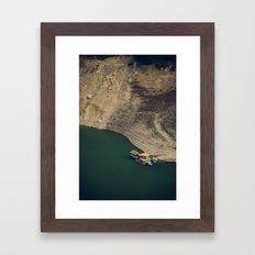 Colourful Boats Framed Art Print