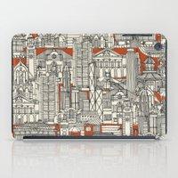 Hong Kong Toile De Jouy iPad Case