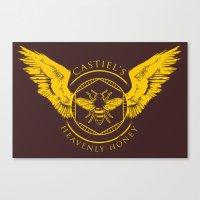 Castiel's Heavenly Honey Canvas Print