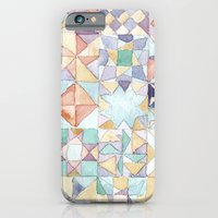 Watercolour Quilt iPhone 6 Slim Case