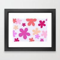 Anohana Flowers Framed Art Print