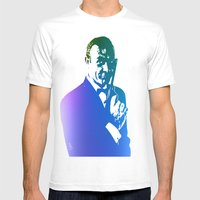 James Bond - True Blue Mens Fitted Tee White SMALL