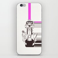 Smiling Machine iPhone & iPod Skin