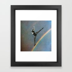 flying dance 2 Framed Art Print
