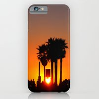 iPhone & iPod Case featuring Venice Beach Sunset by Great North Eastern