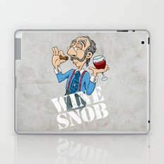 Wine Snob Laptop & iPad Skin