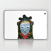 Black MASK Laptop & iPad Skin