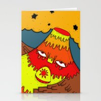 Hephaestus the Fire King Stationery Cards