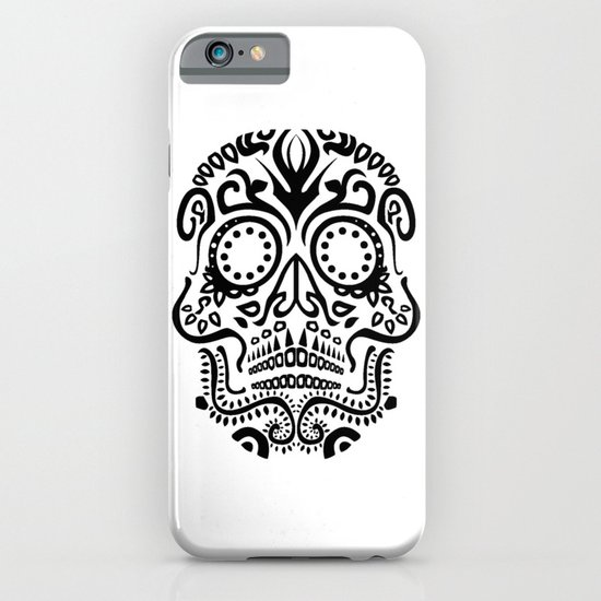 Day of the Dead Skull No.25 iPhone & iPod Case