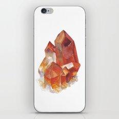 Orange Quartz Cluster iPhone & iPod Skin