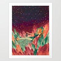 Galactica  Art Print