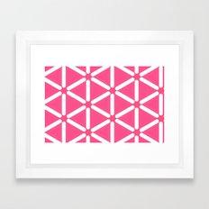 Wildeman Pink Framed Art Print