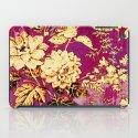 rich floral iPad Case