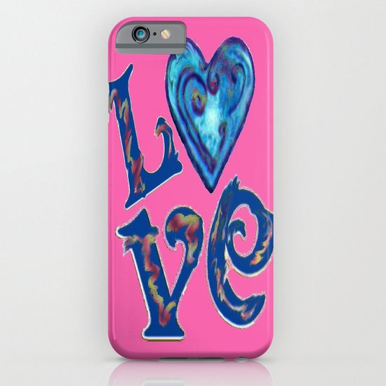 Love in Pink iPhone & iPod Case
