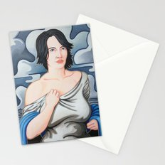 Cloud Cover Brings the Rain Stationery Cards