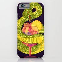 iPhone & iPod Case featuring Viper on a Diet by choppre
