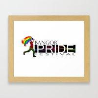 Bangor PRIDE Festival 20… Framed Art Print