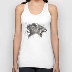 DARK LION Unisex Tank Top