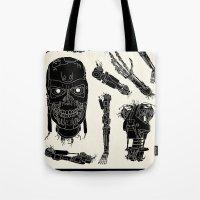 Decommissioned: Terminator  Tote Bag