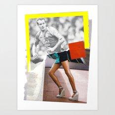 Football Fashion #9 Art Print